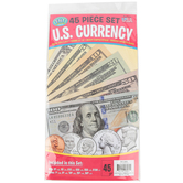Top Notch Teacher, U.S. Currency Set, 45 Pieces, Grades K and up