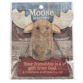 Imagine Design, Proverbs 17:17 Your Friendship Is A Gift Moose Magnet, 3 3/4 x 4 inches
