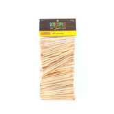 Woodpile Fun, Wooden Tapered Craft Picks, 3 1/2 inches, Natural, 500 Count