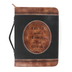 Divinity Boutique, Psalm 37:3 Trust In The Lord Bible Cover, Black & Brown, Large