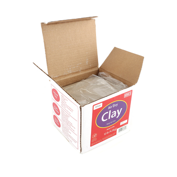 Amaco Air Dry Modeling Clay, White, 10 lbs.