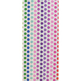 Brother Sister Design Studio, Tissue Paper, Rainbow Dot, 20 x 20 Inches, 8 Sheets