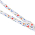 ID Avenue, Peonies Flower Pattern Ribbon Lanyard, Multi-Colored, 38 Inches, 1 Piece