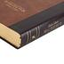 NBLA MacArthur Spanish Study Bible, Imitation Leather, Brown, Thumb Indexed