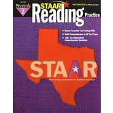 Newmark Learning, STAAR Reading Practice: Grade 2, 8.5 x 11 Inches, Paperback, 144 Pages