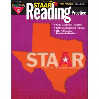 Newmark Learning, STAAR Reading Practice: Grade 4, 8.5 x ...