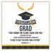 Dicksons, Jeremiah 29:11 Congratulations Grad Wood Block, MDF, 3 7/8 x 3 7/8 x 3/4 inches