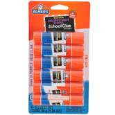 Elmer's, Washable Disappearing Purple School Glue Sticks, 6 Pack