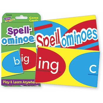 Challenge Cards Spellominoes