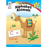 Home Workbooks Gold Star Edition Activity Book: Alphabet Animals, 64 Pages, Grades PreK-K