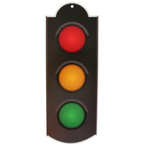 Renewing Minds, Stoplight 2-Sided Decoration, 12 x 15 Inches, 1 Piece
