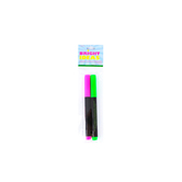 Bright Ideas, Chalk Markers, 5 x 3/8 inches, Multiple Colors Available, Set of 2