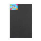 Silly Winks, Thick Foam Sheet, 12 x 18 inches, Black