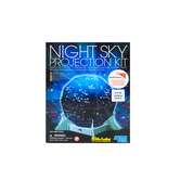4M Kidz Labs, Night Sky Projection Kit, 10 Pieces, Ages 8 and up