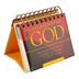 DaySpring, Experiencing God Perpetual Calendar, Paper, 5-1/2 x 5-1/4 x 1-1/4 inches
