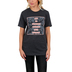 NOTW, She Is Fearless, Women's Short Sleeve T-Shirt, Dark Grey Heather, X-Small