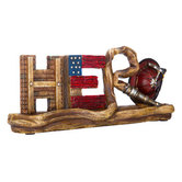 Hero Table Decor for Firefighter, Resin, 11 x 5 inches
