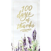 100 Days Of Thanks, by Thomas Nelson, Hardcover