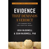 Evidence That Demands A Verdict, by Josh McDowell and Sean McDowell, Hardcover