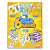 Junior Learning, 6 Letter Sound Games Set, Ages 5 Years and Older