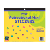 Eureka, Motivational Mini Sticker Book, 11.5 x 9.5 Inches, Multi-Colored, Book of  2992