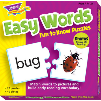 Easy Words Fun To Know Puzzle