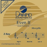 Even If, Accompaniment Track, As Made Popular by MercyMe, CD