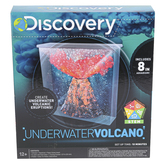 Horizon Group, Discovery Underwater Volcano Kit, 12 Pieces, 8 x 8 x 2.5 inches, Ages 12 and Older