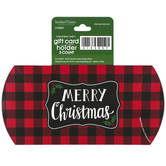 Brother & Sister Design Studio, Merry Christmas Gift Card Holder, 3 x 6 inches, Set of 3