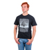 Kerusso, Colossians 2:7 Rooted In Christ, Men's Short Sleeved T-Shirt, Black, Small