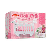 Melissa & Doug, Wooden Doll Crib, Ages 3 to 7 Years