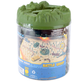 Sunny Days, Elite Force Battle Group Playset Bucket, 120 Pieces, Ages 4 to 15 Years Old