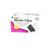 Charles Leonard, Binder Clips, Large, 12 Ct