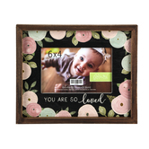 Green Tree Gallery, You Are So Loved Photo Frame, Holds 6 x 4 inch Photo, 9 1/2 x 7 1/2 x 4 1/2 inches