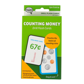 The Brainery, Counting Money Drill Flash Cards, 56 Cards, 3.25 x 5.25 Inches, Grade 1 and up