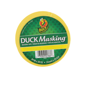 Duck Brand, Masking Tape, .94 x 30 Yards, Yellow