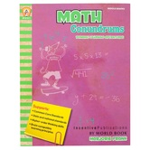 Incentive Publications, Math Conundrums Dynamic Learning Adventures Workbook, 111 Pages, Grades 5-9