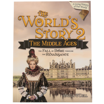 Master Books, The World's Story 2: The Middle Ages, by Angela O'Dell, Student, Grades 6-8
