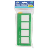 Didax, Place Value Sliders: Ones to Thousands, Set of 10, 3 x 7-Inches, Grades 2-5
