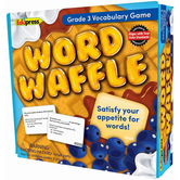 Edupress, Word Waffle Game, Grade 3, 2 or More Players, 215 Pieces