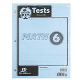 BJU Press, Math 6 Tests Answer Key (3rd Edition)