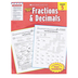 Scholastic, Success with Fractions and Decimals Workbook, Reproducible, 48 Pages, Grade 5