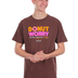 Kerusso, 1 Thessalonians 5:23 Donut Worry, Men's Short Sleeve T-shirt, Chocolate, Small