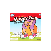 Toysmith, Hoppy Ball, Ages 3 Years and Older, 18 Inches, Blue, 1 Piece