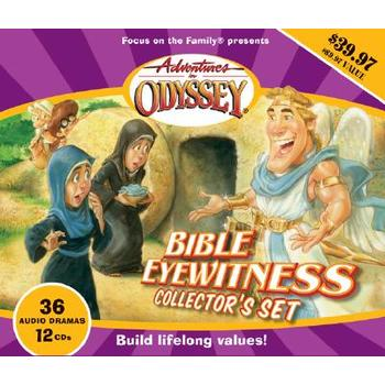 Adventures in Odyssey, Bible Eyewitness Collector's Set, by Focus On The Family, 12 CD Set