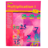 Edupress, Multiplication 1 Drill Workbook, Facts 0-81, Reproducible 32 Pages, Grades 2-7