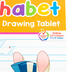 School Zone, Alphabet Writing and Drawing Tablet Workbook, 96 Pages, Preschool-Grade 2