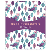 Fun Bible Word Searches: 99 Puzzles, by Barbour, Paperback