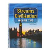 Christian Liberty Press, Streams of Civilization Vol 2 Student Text, 3rd Ed, Hardcover, 618 Pages, Grade 10