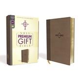 NRSV Premium Gift and Award Bible, Imitation Leather, Brown
